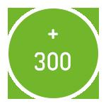 Plus de 300 drivers de communication